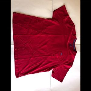 Tommy Bahama relax red pocket tee